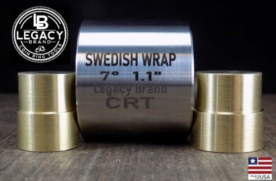 1.1 Swedish wrap die and brass push rods