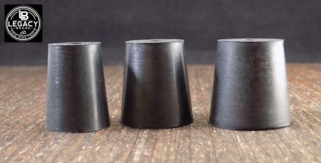 Replacement mandrels for polish and finish kit