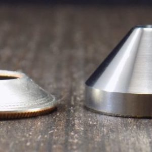 Starter cone for coin rings